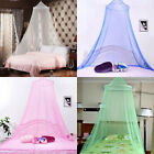 Round Hanging Mosquito Net Curtains Bed Canopy Lace Princess Bedding Dome Tent image