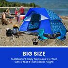 Family Camping Tents, Portable Sleek Durable Outdoor Travel Shelter Assemble New