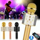 Kyпить WS858 Wireless Bluetooth Microphone Karaoke KTV Handheld Mic USB Speaker Player на еВаy.соm