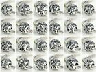 Pandora 925 Silver VINTAGE LETTERS Initial Character Alphabet Charm Bead  image