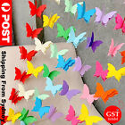 3d Paper Butterfly Hanging Garland Bunting Banner Wedding Party Home Decoration