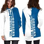Los Angeles Dodgers Team Sport Hoodie Dress for Women Size Medium to 3XL on Ebay