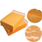 5/30pcs Yellow Kraft Bubble Mailers Padded Envelopes Shipping Bags Self Seal