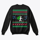 Printed Hiking Ugly Christmas Sweater Hanes Hanes Unisex Crewneck Sweatshirt