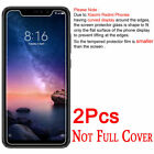 2X Tempered Glass Screen Protector For XiaoMi Redmi 5A 6A 5 6 Plus Note 6 5 Pro
