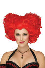 Brand New Renaissance Queen of Hearts Alice in Wonderland Inspired Adult Wig