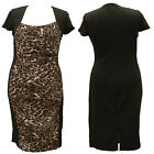 PANELLED LEOPARD WGIIGLE DRESS DEBENHAMS RED HERRING NEW WITH TAGS SIZE 12