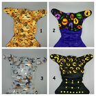 SassyCloth one size pocket cloth diaper with halloween cotton print 2 .