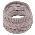 Kid Baby Boys Girls Cotton Scarf Winter Warm Knitted Collar Neck Wrap Scarves AE