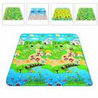 Baby Crawling Play Mat Carpet Toy Kid Game Activity Gym Rug Blanket 180 150cm