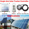 SZMWKJ Electronic Controller +IR Remote For Single Axis Tracker SolarPanel Track