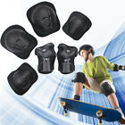 Kids 6Pcs Sports Protective Gear Set Safety Pad Knee and Elbow Pad & Wrist Guard image