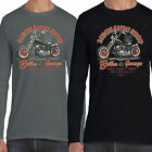 Mechanic Shop Kustom Classic Bike Motorbike Biker Long Sleeve T shirt S-2XL 67