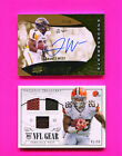 TERRANCE WEST CARD LOT OF 2 AUTO & GAME USED CARDS PICK 1 -2 OR ALL YOU PICK