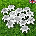 UK STOCK 14/28/56pcs Golf Shoe Spikes White/Gray Cleat for Footjoy Fast Twist