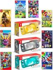 Nintendo Switch Lite 32GB Handheld Video Game Console with Choice of Game Bundle