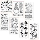 Christmas Winter Santa Halloween Bear Clear Stamps for DIY Scrapbooking Stempels