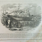 1850's Launch of Flying Cloud/Francis Tukey, City Marshal of Boston, VTG Etchs