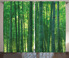Curtains 2 Panel Set Window Drapes for Room Decor with Rod Pocket by Ambesonne