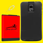 For Samsung Galaxy Note 4 11900mAh Super Extended Battery Black TPU Cover Case