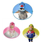 Used, Foldable Cartoon Duck Children Raincoat Umbrella UFO Shape Rain Hat Cape Fashion for sale  Shipping to Canada