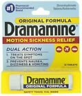 5 - Dramamine Non-Drowsy Naturals Motion Sickness Relief 5X 12 Count