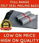 Grey Mailing Bags Strong Poly Postal Postage Post Mail Self Seal Cheap All Sizes