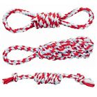 Trixie Playing Rope for Dogs - Cotton Dummy, Knotted, Loop Puppy Tug of War Toy