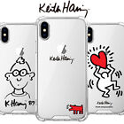 Genuine Keith Haring Jelly Hard Case Galaxy Note 9/Galaxy Note 8 made in Korea