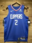 Los Angeles Clippers Kawhi Leonard  ICON AUTHENTIC NIKE Jersey With Patch!!! on eBay