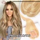 Mono Lace Remy 100% Human Hair Topper Toupees Hairpiece Top Wigs For Women B175