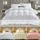 Luxury Goose Down Duvet Core Quilt Double Padded Feather Warm Comforter Washable image