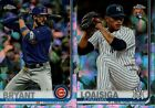 2019 TOPPS CHROME SAPPHIRE BASE REFRACTOR SINGLES w/ RC #1-250 YOU PICK FOR SET