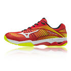 Mizuno Mens Wave Exceed Tour 3 All Court Tennis Shoes Red Yellow Sports Trainers