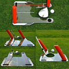 Pro Golf Swing Trainer Speed Trap Base Aid 4 Rods Hitting Practice Golf Training