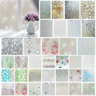 Bedroom Bathroom Home Glass Window Privacy Film Sticker PVC Frosted Window UK