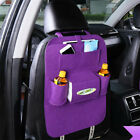 Storage Bag Car Seat Organizer Protectors for Kids Bottles Tissue Box 4 Children
