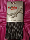 Frenchic Fishnet Crochet Lace Tights Pantyhose (size 3X/4X) Style 5
