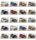 Bedspread Set with 2 Shams by Ambesonne Decorative Printed 3 Piece image