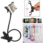 360° Clip Flexible Mobile Cell Phone Holder Lazy Bed Desktop Bracket Mount Stand