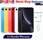 Apple iPhone XR 64GB 128GB 256GB Unlocked Network Smartphone Various Colours