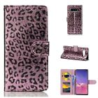 Luxury Leopard Leather Magnetic Case Cover Slot Fr Samsung Galaxy S10+S10e Note8