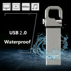 USB 2.0 32GB Flash Drive Disk Memory Stick U Disk Keychain Pendrive PC Laptop