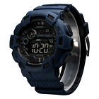 SKMEI Men's Fashion Sport LED Waterproof Digital Military Large Dial Alarm Watch image