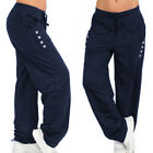 Womens Joggers Trousers Tracksuit Bottoms Casual Jogging Gym Pants Lounge Wear