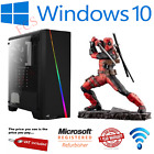 Fast Quad Core I7 Gtx 1650 Gaming Pc 16gb Ram 2tb Windows 10 Desktop Computer