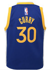 Golden State Warriors Stephen Steph Curry NBA Basketball Child Blue Jersey on eBay