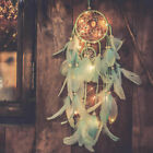 Dream Catcher 20LEDs Light Bedroom Wall Hanging Craft Ornaments XMAS Decor Gifts