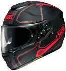 SHOEI PENDULUM RED BLACK Full Face Helmet DOT FREE SHIPPING