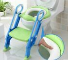 Toddler Toilet Chair Kids Potty Training Seat with Step Stool Ladder image